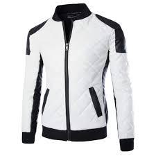 cheap motorbike jackets mens motorcycle jackets collar stitching leather jacket coat