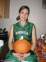 Halloween Costumes Pregnant Women Basketball Player Halloween Costume U0026 Belly Painting Pregnant