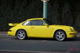 yellow porsche 911 1987 porsche 911 yellow