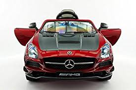 mercedes sls amg edition amazon com licensed mercedes sls amg edition 12v ride