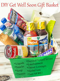 basket ideas well soon gift basket ideas reliefishere