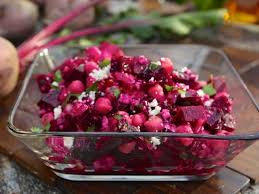 roasted beet salad with chickpeas and recipe fieri