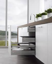 contemporary kitchens without upper cabinets easy kitchen by treo
