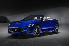 blue maserati maserati brings granturismo mc centennial edition and ghibli app to ny