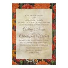 country wedding programs vintage floral greenery wedding menu cards country gifts