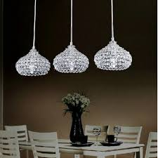 attractive crystal kitchen island lighting including gorgeous