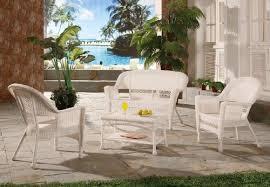 White Wicker Patio Chairs White Resin Wicker Patio Furniture