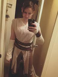 Star Wars Halloween Costumes Men Star Wars Force Awakens Womens Deluxe Rey Costume