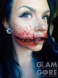 Halloween Special Effects Makeup Ideas by Special Effects Chelsea Grin Done Using 3rd Degree For More