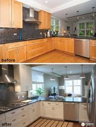 Kitchen Cabinets And Hardware A Kitchen Renovation With White Cabinets And Hickory Hardware