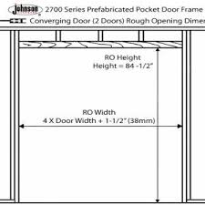 Closet Door Measurements Framing A Closet Door Opening Http 35people Info