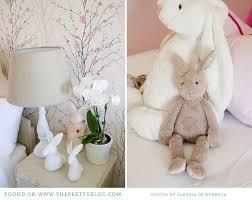 Bunny Nursery Decor Pink White Nursery Decor Baby 002 Baby Mias Nursery Room Tour