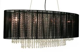 Rectangular Shade Chandelier Modern Home And Office Furniture Store 4 Light Crystal Chandelier