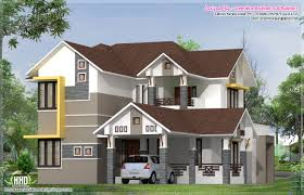 Modern Elevation by 2400 Sq Feet Modern Elevation Kerala Home Design And Floor Plans