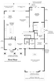 craftsman floor plan coastal oaks at nocatee heritage collection the anna maria