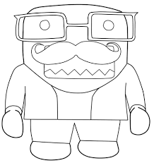 domo coloring pages free coloring book 2770