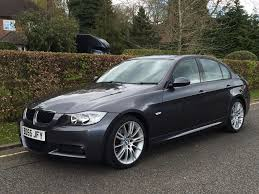 bmw 320d m sport 2 0 diesel manual 5dr saloon 2005 55 grey in