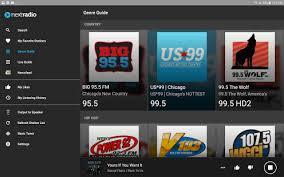 android fm radio nextradio free live fm radio android apps on play