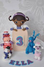 doc mcstuffins cupcake toppers doc mcstuffins cake topper figures cakecentral