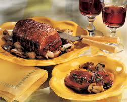 canard cuisine recette rôti de magrets farci aux cèpes