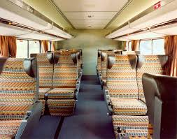 archives amtrak history of america s railroad superliner i lower level coach seating 1980s