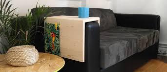 table pour canapé diy fabriquez une table d appoint pour canapé aménagement