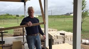 the basics of building an outside masonry fireplace part 1 youtube