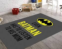 Batman Decor For Bedroom Batman Room Decor Etsy