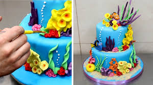 finding nemo cake how to make by cakesstepbystep youtube