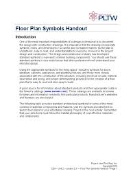 How To Read Floor Plans Symbols Floor Plan Symbols Hand Out Engineering Technology