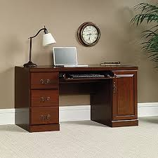 sauder heritage hill outlet classic cherry 6 piece executive