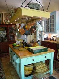 Kitchen Island With Hanging Pot Rack Cool Best 25 Pot Rack Hanging Ideas On Pinterest Of Country
