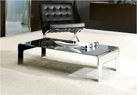 mirrored glass coffee table luxury mirror glass coffee table awesome home design