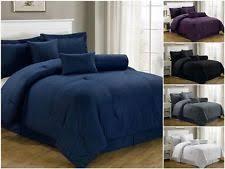 Solid Colored Comforters Purple Comforter Ebay