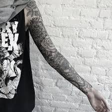 the 25 best black sleeve tattoo ideas on pinterest forearm
