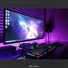 Desk For Gaming Setup by 491 Best Pc Desk Images On Pinterest Pc Setup Gaming Setup And
