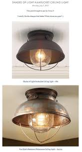 Nantucket Ceiling Light Salt Marsh Cottage Light Fixtures On A Budget Diy Home Decor