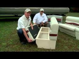 premier pontoon furniture series installation video youtube