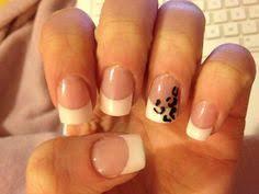 freehand leopard tips acrylic nail tip design art nail designs