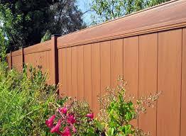 Types Of Garden Fences - pvc fence u2013 orlando steel enterprises