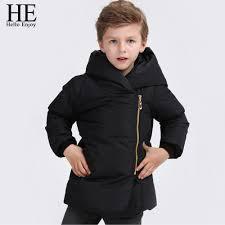 Rugged Boy Aliexpress Com Buy He Hello Enjoy 2017 Boys Winter Jacket Kids