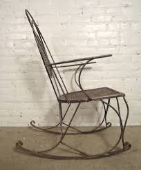 Rod Iron Home Decor Enjoyable Wrought Iron Rocker Chair About Remodel Small Home Decor