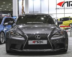 lexus on vogue tires sffl 1501 ark solus widebody front bumper lip lexus is250