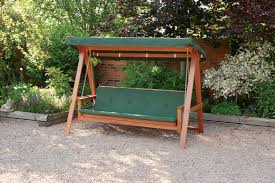 garden swing bench home outdoor decoration