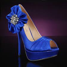 wedding shoes royal blue blue wedding shoes the fashionbrides