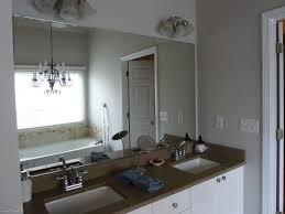 bathroom wall mirrors frameless creative ideas for bathroom mirrors rectangular black stained