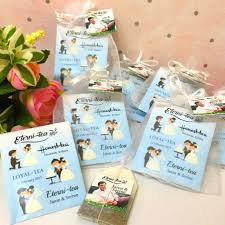 personalized tea bags personalized tea bag unique wedding favors door gifts with