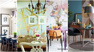 19 super impressive statement walls in the dining room