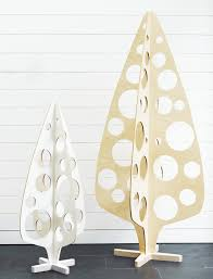 holey christmas tree laser cut ply flat pack hutchy collective