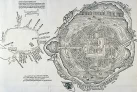 Aztec Empire Map Newsela Primary Sources Cortes Describes The Aztec Capital Of